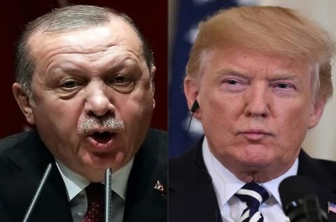 Trump Sebut Ekonomi Turki Hancur Jika Erdogan Serang Kurdi