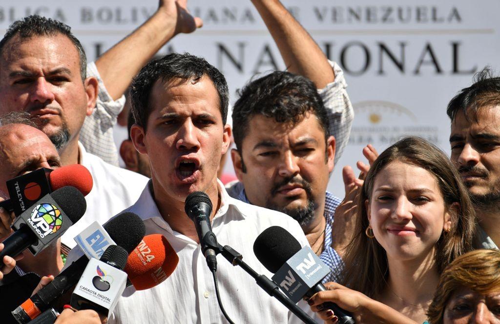 Pemimpin oposisi di Venezuela, Juan Guaido. (Foto: AFP)