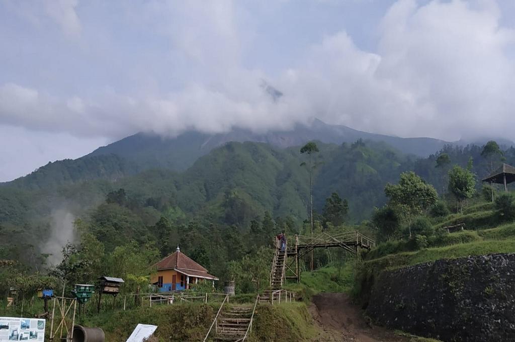 Pantauan kondisi di Gunung Merapi, Senin 14 Januari 2019, Medcom.id - Mustaqim