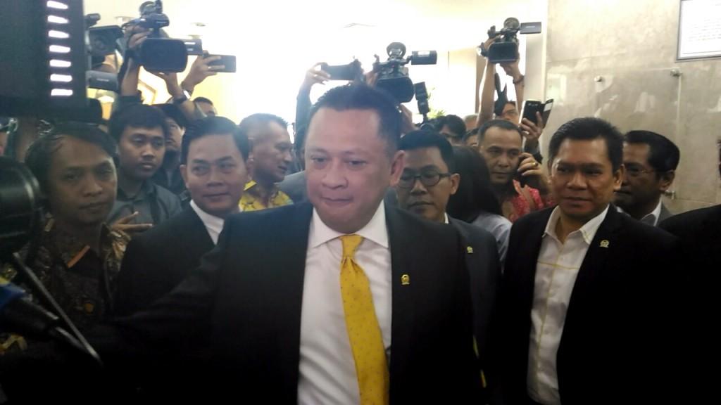 Ketua DPR Bambang Soesatyo. Foto: Medcom.id/Ilham Wibowo.