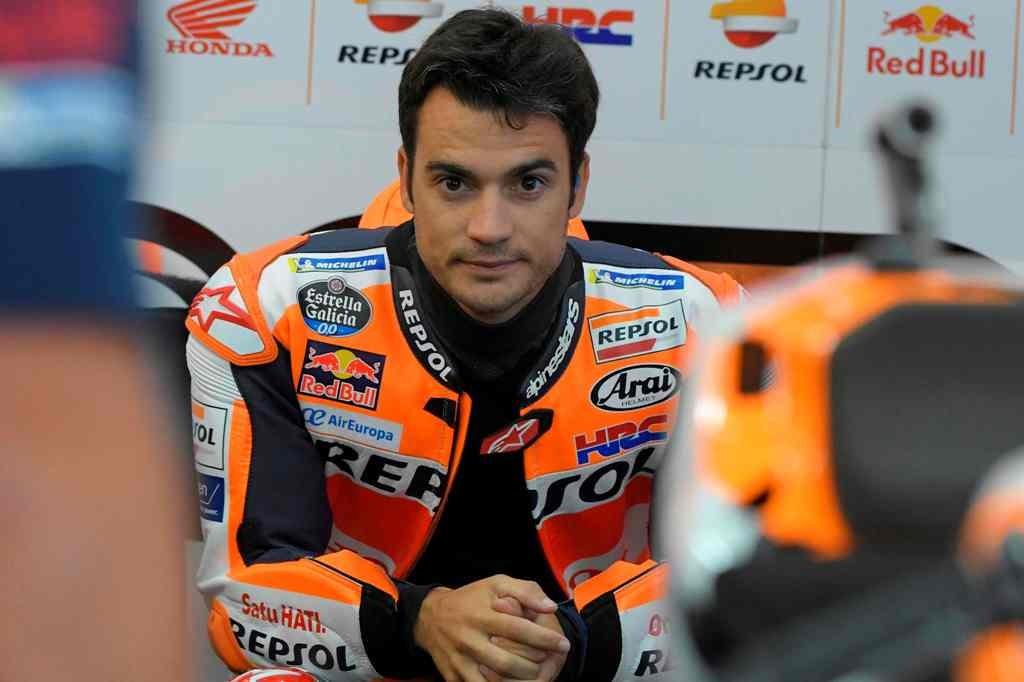Mantan pembalap MotoGP, Dani Pedrosa (AFP/Jose Jordan)