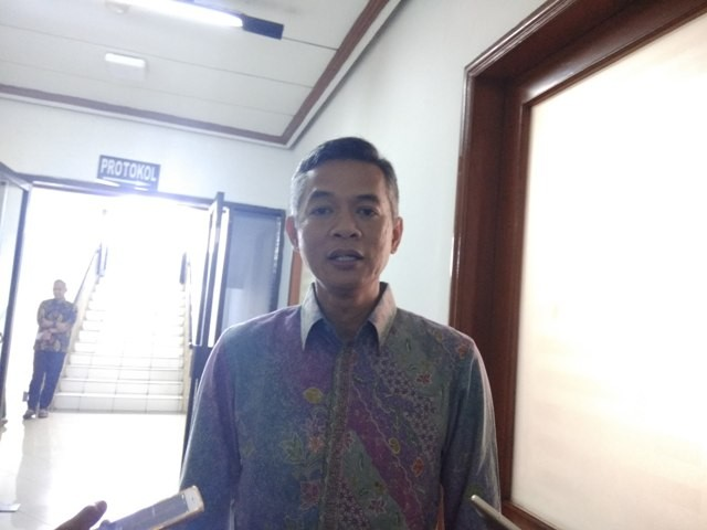 Komisioner KPU Wahyu Setiawan. Foto: Medcom.id/Fachri Audhia Hafiez