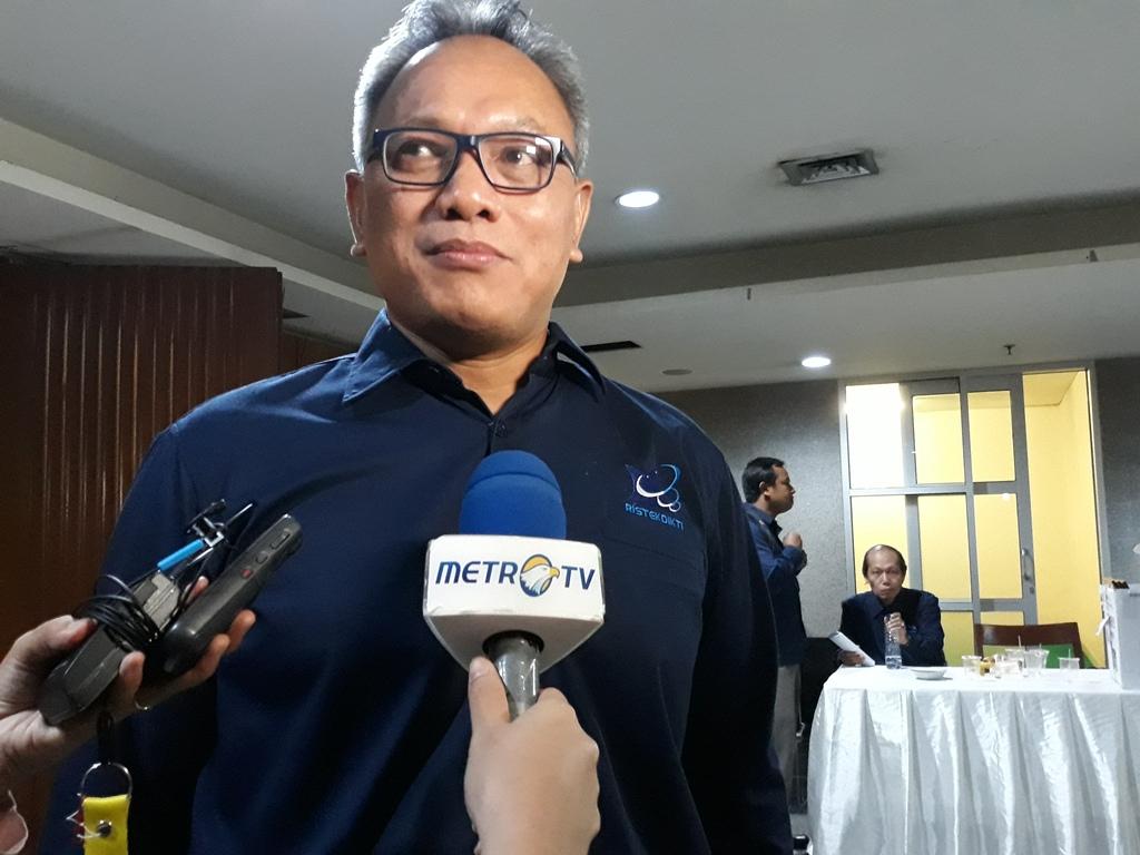 Direktur Jenderal Pembelajaran dan Kemahasiswaan (Belmawa) Kemenristekdikti, Ismunandar, Medcom.id/Citra Larasati.