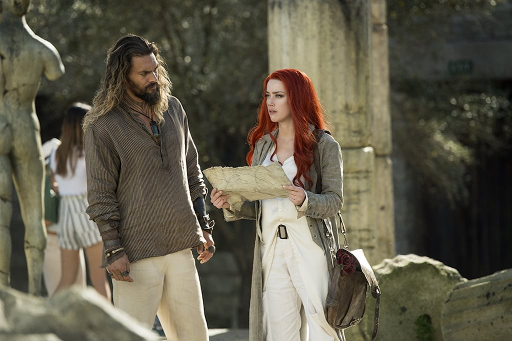 Jason Momoa dan Amber Heard dalam Aquaman (Foto: Warner Bros)