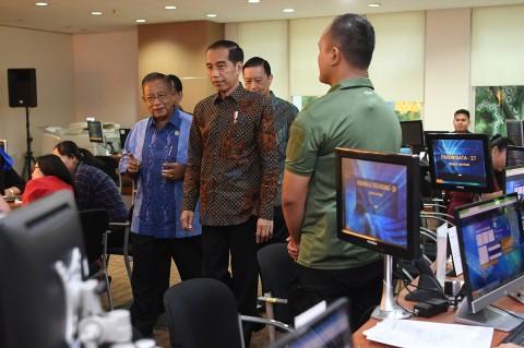 Jokowi Cek Kecepatan Izin Investasi via OSS di BKPM