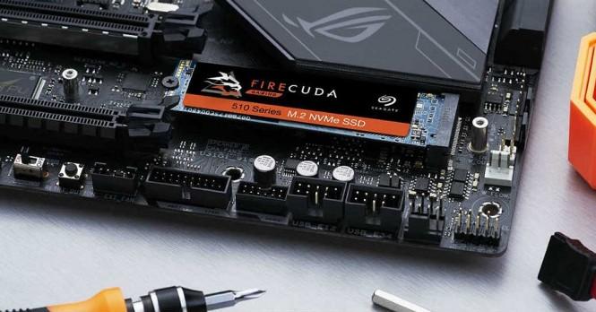 Seagate SSD M.2 NVME seri FireCuda.