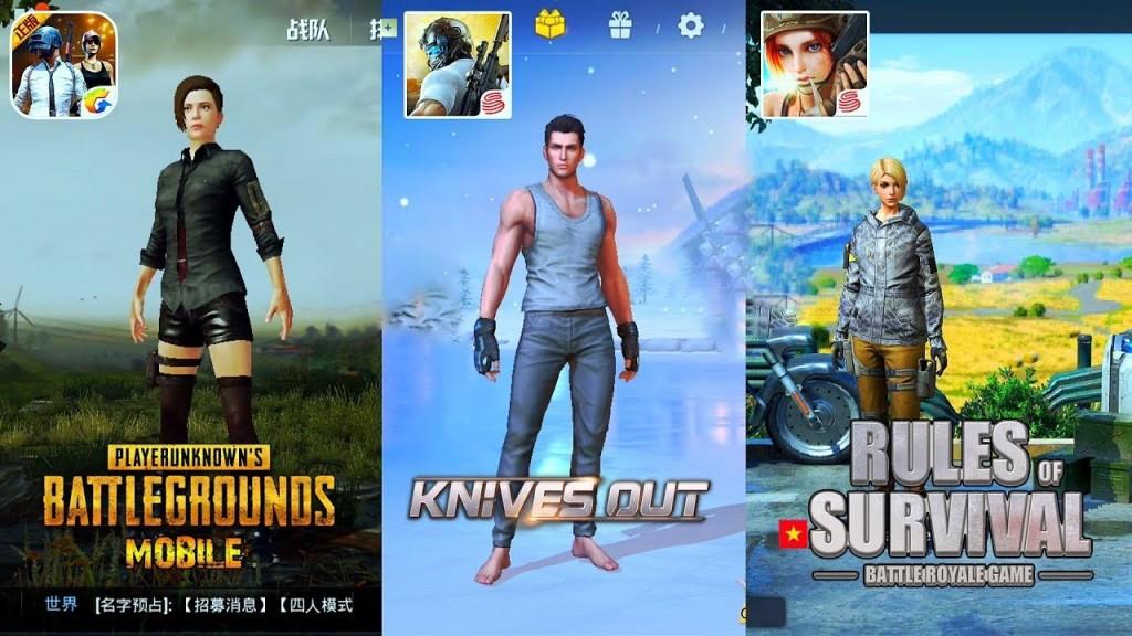 Tiga game mobile bergaya Battel Royale, (WCCF Tech)