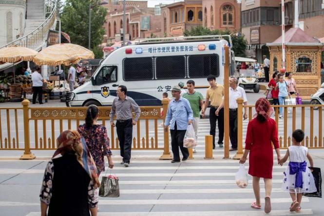 Kashgar, salah satu sudut di Xinjiang. (Foto: AFP)