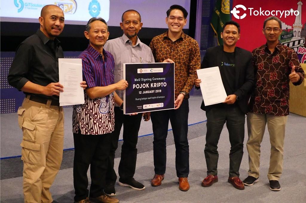 Bekerja sama dengan AMIKOM Yogyakarta, Tokocrypto memperkenalkan Pojok Kripto.