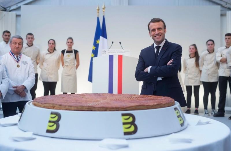 Presiden Prancis Emmanuel Macron dihadapkan pada protes yang menggoyang pemerintah. (Foto: AFP).