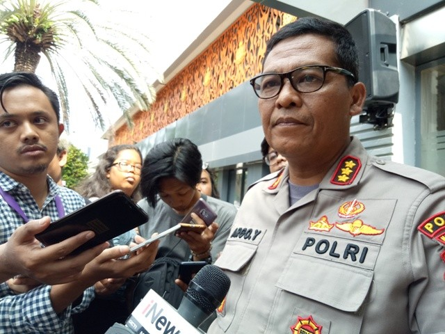 Jakarta Metro Police spokesperson Senior Commissioner Argo Yuwono (Photo:Medcom.id/Siti Yona Hukmana)