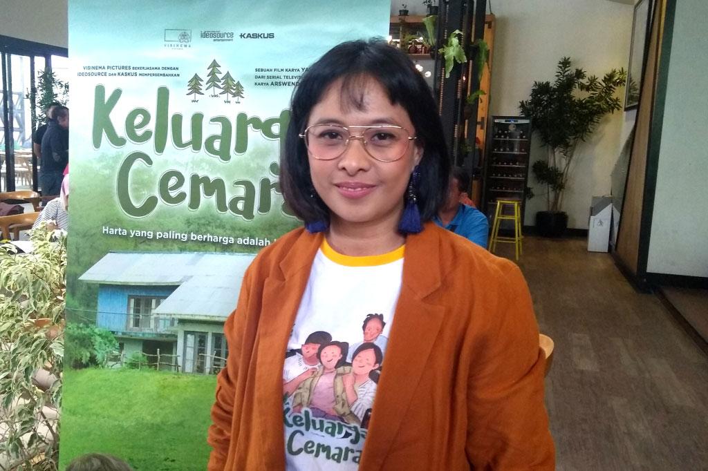 Produser Visinema Pictures Anggia Kharisma (Foto: Medcom.id/Purba Wirastama)