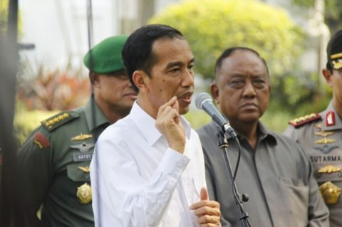 Presiden Joko Widodo. Medcom.id/Desi Angrian