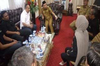 Media Group Temui Wakil Wali Kota Bengkulu