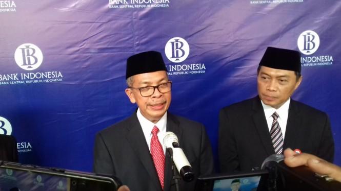 Deputi Gubernur Bank Indonesia (BI) Sugeng. Medcom.id/Daviq Umar Al Faruq.