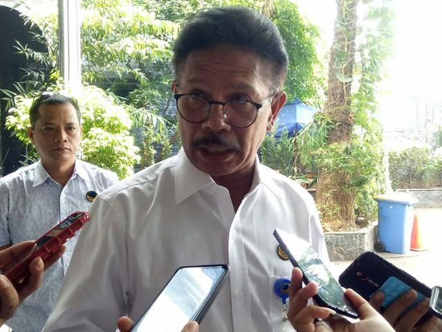 Wakil Ketua TKN KIK Johnny G. Plate/Medcom.id/Arga Sumantri