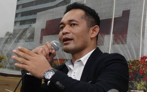 Direktur Eksekutif Lembaga Pemilih Indonesia (LPI) Boni Hargens - MI/M Irfan.