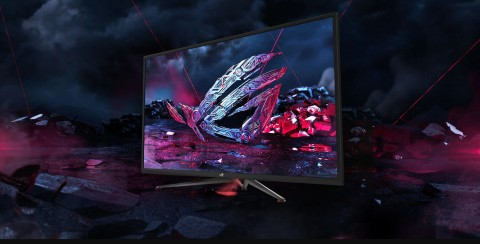 ASUS Punya Monitor Gaming Super 43 Inci