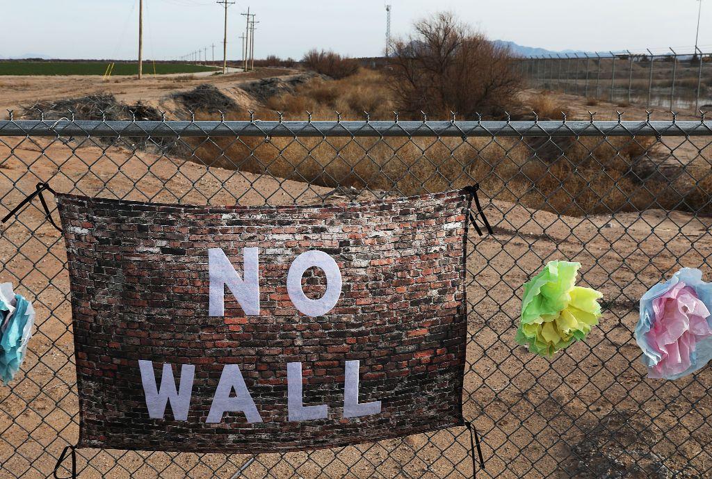 Perbatasan antara AS dan Meksiko. (Foto: AFP)