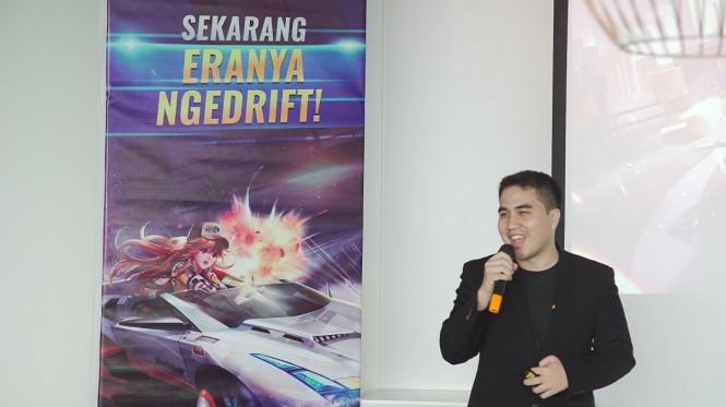 Eldwin Pradipta selaku Project Manager Speed Drifters di Indonesia. (Indogamers)