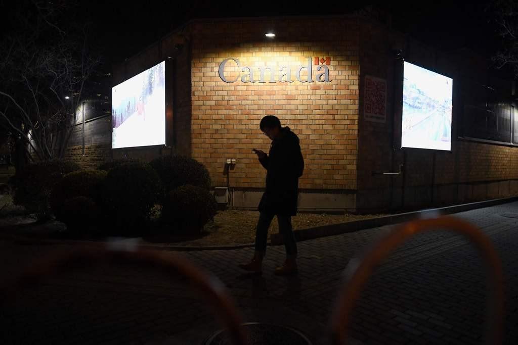 Kedubes Kanada yang berada di Beijing. (Foto: AFP)