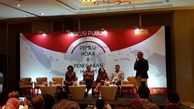 Diskusi publik KSP - Medcom.id/Damar Iradat.