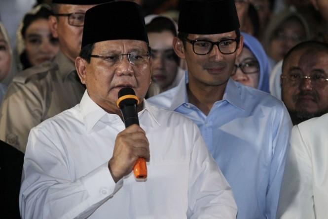 Prabowo Subianto. MI/Erlangga.
