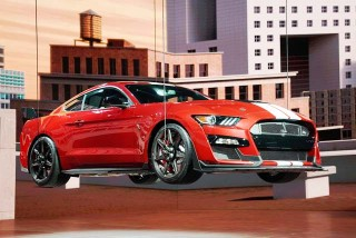 Mustang GT Shelby 500, Produk 'Pamitan' Ford?