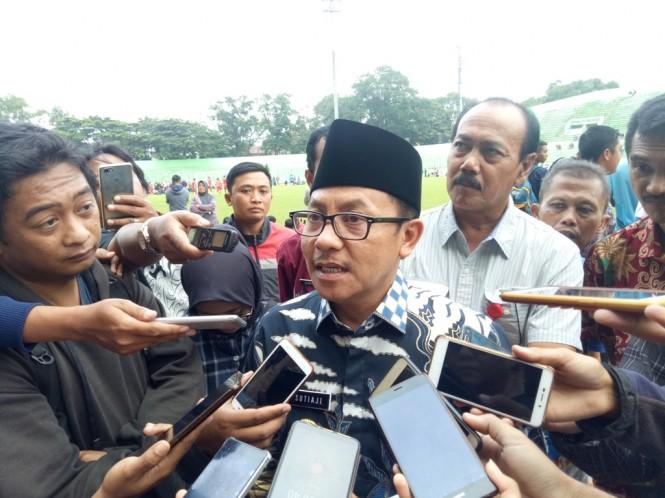 Walikota Malang Sutiaji ingin Arema kembali bermarkas di Stadion Gajayana (Foto: medcom.id/Daviq Umar)