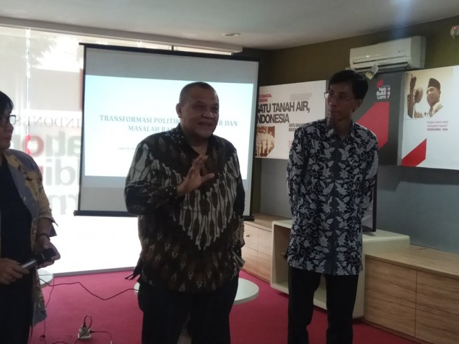 Duta Besar Republik Indonesia Untuk Myanmar, Irjen Pol. Prof.DR.Iza Fadri. (Foto: Medcom)