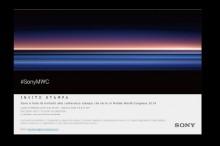 Sony Kirimkan Undangan Ajang MWC 2019