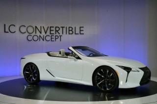 Lexus LC Convertible Concept Mejeng di Detroit Auto Show