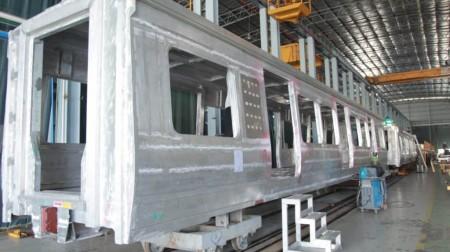 Pengerjaan Kereta LRT Jabodebek Capai 15%