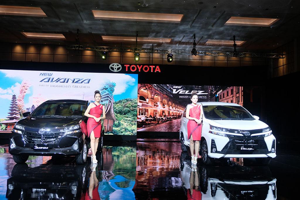 Kehadiran New Avanza dan New Veloz menjadi strategi Toyota di 2019. Medcom.id/Ekawan Raharja