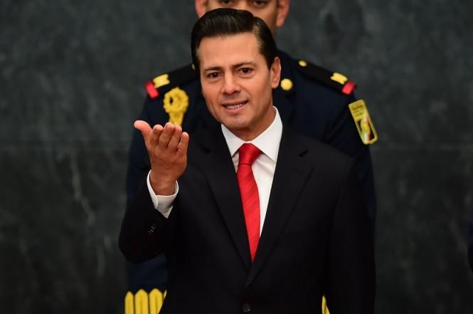 Presiden Meksiko Enrique Pena Nieto periode 2012-2018. (Foto: AFP)