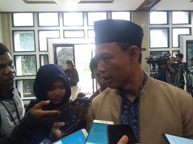 Komisioner KPU Pramono Ubaid Tanthowi--Medcom.id/Kautsar Widya Prabowo.