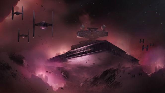 Konsep gambar dari game Star Wars dari Visceral.