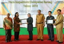 Inspektorat Kabupaten Serang Raih Dua Sertifikat ISO