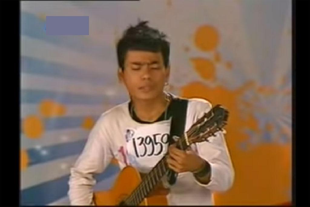 Aris saat audisi Indonesian Idol musim kelima tahun 2018 (Foto: Dok. RCTI)