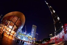 Gemerlap Kapal 'Terdampar' di Dubai