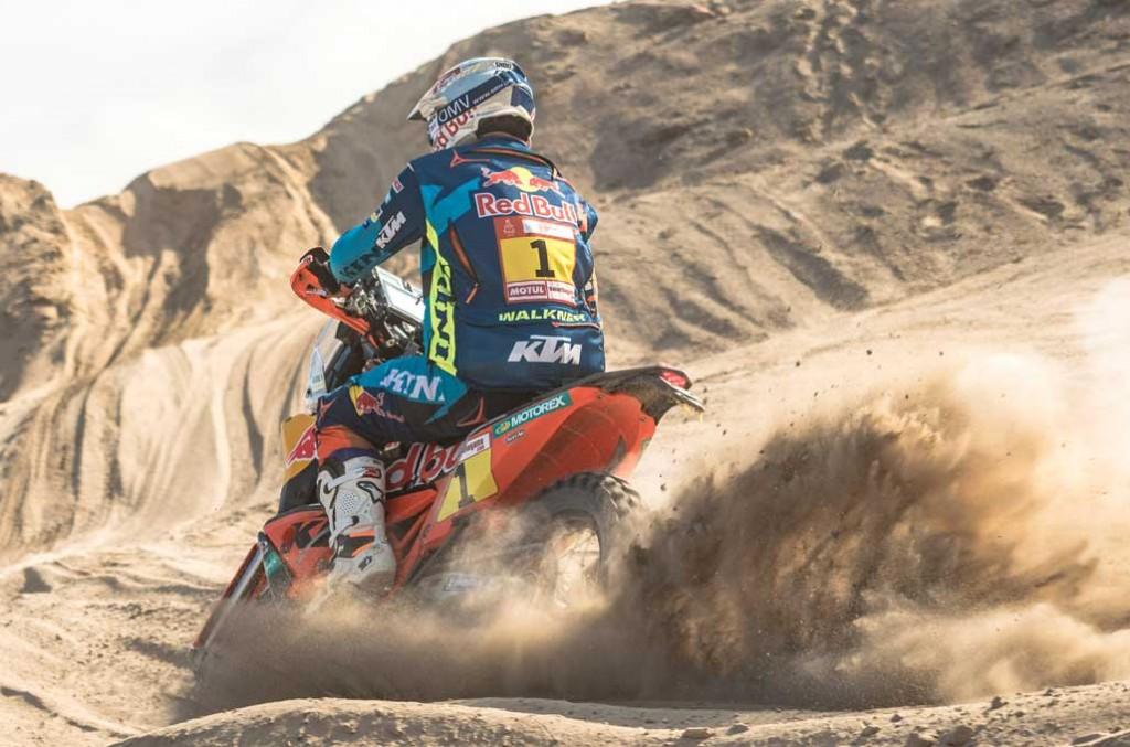 Matthias Walkner agresif meraih kemenangan di etape-8 Dakar Rally 2019. RedBull