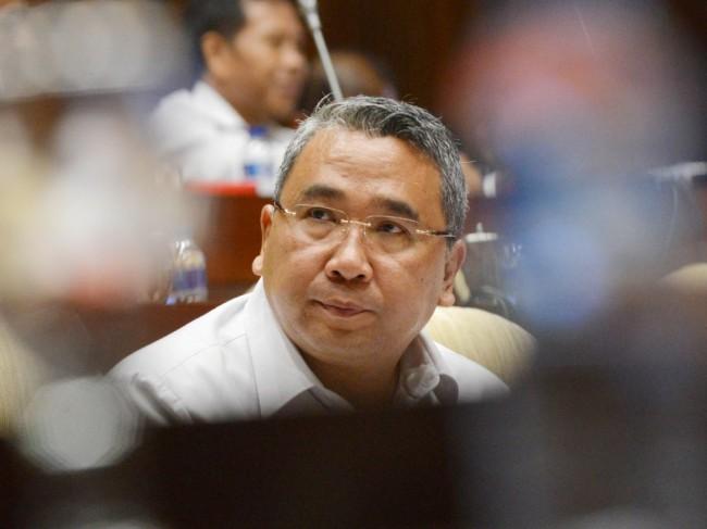 Menteri Desa Pembangunan Daerah Tertinggal dan Transmigrasi (Mendes PDTT) Eko Putro Sandjojo. Mi/Irfan.