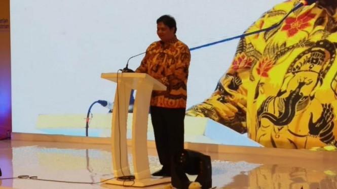 Menteri Perindustrian Airlangga Hartarto. Foto: Medcom/Syawal