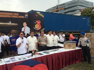 Kelompok Penggelap Rokok Bernilai Rp8 Miliar Ditangkap