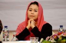 Yenny Wahid Kampanyekan Jokowi-Ma'ruf di Jawa Barat
