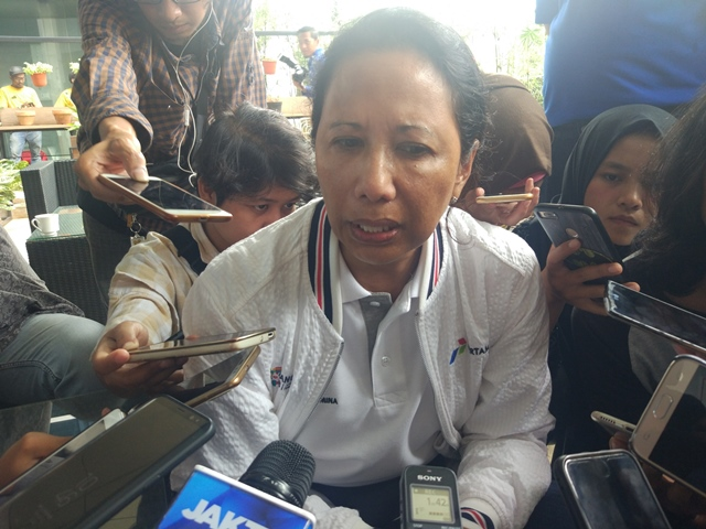 Menteri BUMN RIni Soemarno. Medcom/Annisa.