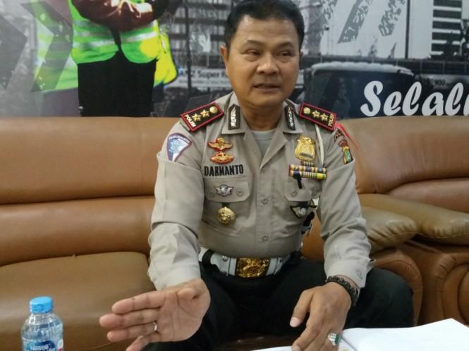 Kabag Bin Opsnal Ditlantas Polda Metro Jaya AKBP Darmanto. Foto: Medcom.id/Siti Yona Hukmana.