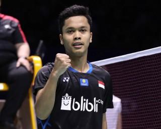 Malaysia Masters 2019: Menang Rubber Game, Ginting Lolos ke Babak Kedua