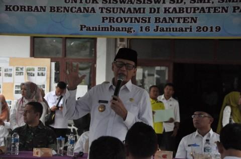 Pemprov Banten Janji Bangun 1.033 Rumah Korban Terdampak Tsunami