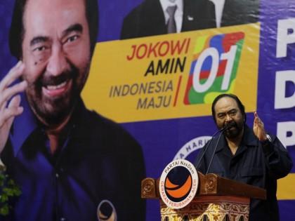 Survei: Elektabilitas NasDem Masuk 5 Besar